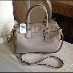 100% Authentic coach Handbag Brand new with tags. 100% authentic coach handbag Coach Bags Satchels
