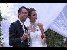 La emotiva boda de Xavi Hernández y Nuria Cunillera