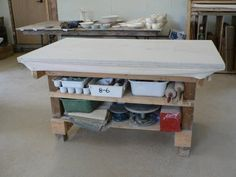StudioÉLAN: how to organize a pottery studio