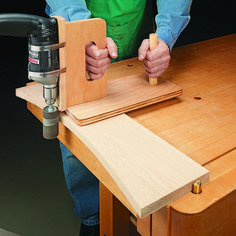 Low-Cost, Portable Edge Sander | Woodsmith Tips