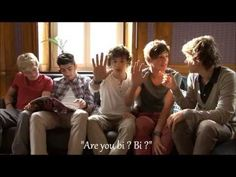 Harry asks Louis if he is bi - YouTube