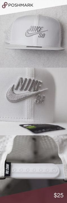 White in color SnapBack for easy adjustment to fit most sizes Features   AEROBILL Lightweight Breathable Comfortable Thanks! Nike Accessories Hats 826c9ef7008