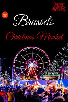 While the weather isn't helping to get into the Christmas spirit, a visit to the Brussels Christmas market this weekend sure did! - http://inspiringtravellers.com/christmas-market-brussels/
