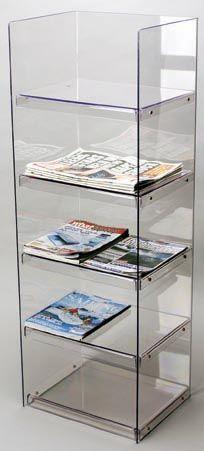 Floor Standing Brochure Holders / Magazine Holders