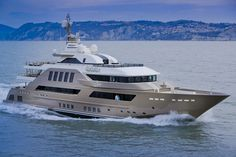 """While every custom yacht starts with an owner's idea, sometimes these yachts also start with ideas generated by a build and design team. uch is the case with J'ade (prounounced """"jade""""), delivered by the Italian shipyard CRN."""