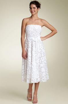 White Sundresses For Wedding | Lace Court White Sheath/Column ...