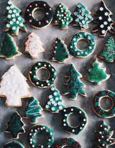 seasonal sugar cookies...YUM!