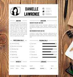 Resume Template  Cv Template The John Perotti By Wordresume