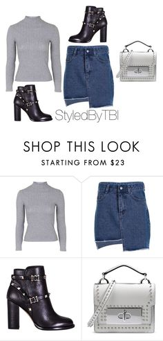 """Untitled #454"" by styledbytbi on Polyvore featuring Topshop, Valentino and Marc Jacobs"