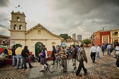 This expat in Bogotá likes her work, but her social life has taken a hit.