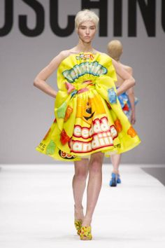Moschino F/W 2014 // Does this guy just have runway shows for shits and giggles? I can't honestly believe anybody would take his stuff seriously.