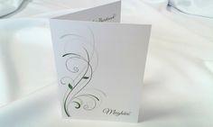 egyedi grafikus esküvői meghívó 077.1 Female