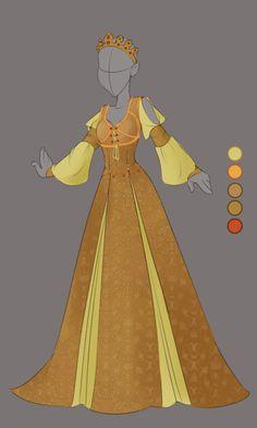 :: Commission April 01: Outfit Design :: by VioletKy.deviantart.com on @DeviantArt