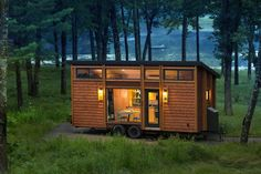 Escape Homes, a company based out of Wisconsin, lets you rent tiny homes for an evening to several days to see if it's right for you.