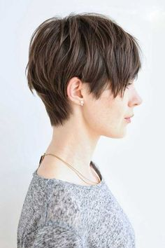 Today we have a collection of hottest pixie haircut ideas which you may try. Checkout this 25 hottest pixie haircut ideas. Thin Hair Haircuts, Short Pixie Haircuts, Cool Haircuts, Pixie Hairstyles, Everyday Hairstyles, Layered Hairstyles, Popular Haircuts, Shaggy Haircuts, Pixie Haircut Thin Hair