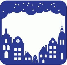 Welcome to the Silhouette Design Store, your source for craft machine cut files, fonts, SVGs, and other digital content for use with the Silhouette CAMEO® and other electronic cutting machines. Silhouette Cameo, House Silhouette, Silhouette Portrait, Silhouette Projects, Silhouette Design, Kirigami, Christmas Town, Christmas Crafts, Stencils