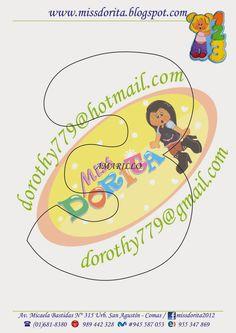 Miss Dorita: Molde Niña con Números Paper Piecing, Paper Cutting, Dragon Ball, Applique, Templates, Education, Birthday, Disney, Creative