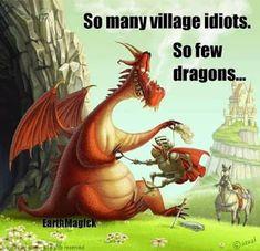Sometimes, the Dragon wins! Dragon and Knight by Brovchenko Ulia, via Behance Fantasy Dragon, Dragon Art, Fantasy Art, Fantasy Creatures, Mythical Creatures, Dragon Illustration, Watercolor Illustration, Digital Art Gallery, Dragon's Lair