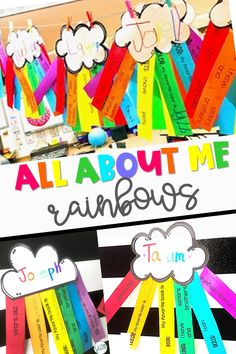 All About Me Rainbows