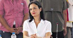Isabel Saint Malo, Vicepresidenta y Ministra de Relaciones Exteriores de Panamá.