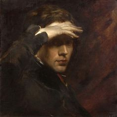 Self-Portrait, by George Richmond, (1809-1896), c. 1840
