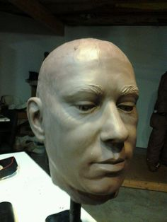 http://www.therseruk.com/kilns Wow! This clay face is amazingly realistic! Therser (UK) Ltd Walley Street, Burslem, Stoke on Trent, Staffordshire, ST6 2AH, UK