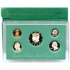 1994-S 5-Coin Proof Set