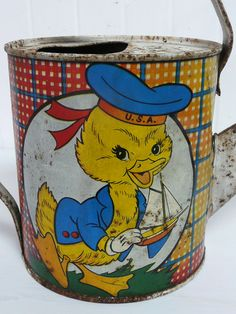Antique Toy Watering Can~~