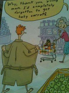 Hahaha somethin my grandma would have said.. XD