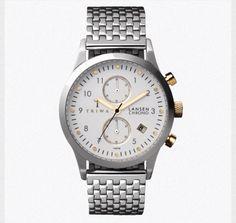 Silver Triwa watch