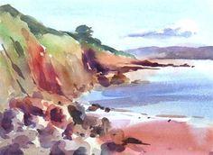 """Goodrington Sands, Paignton"" - Original Fine Art for Sale - © david webb"