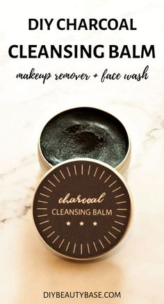 This self-emulsifying DIY cleansing balm works as a cleanser and makeup remover. You will love the natural ingredients used, especially a natural emulsifier that allows this cleansing balm to be removed with water. Homemade Beauty, Diy Beauty, Beauty Soap, Beauty Tips, Beauty Products, Lush Products, Homemade Facials, Face Products, Beauty Secrets