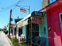 Gordo Lele's - best tacos in Cabo San Lucas. One block up Calle Mariano Matamoros from Lazaro Cardenas.