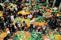 Market day in Portugal
