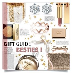 """Gift guide. Besties."" by patria ❤ liked on Polyvore featuring Melrose International, Bobbi Brown Cosmetics, Chanel, RED Valentino, Yves Saint Laurent, giftguide and besties"