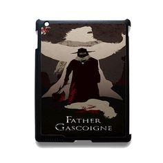 Bloodborne Father Gascoigne TATUM-1911 Apple Phonecase Cover For Ipad 2/3/4, Ipad Mini 2/3/4, Ipad Air, Ipad Air 2