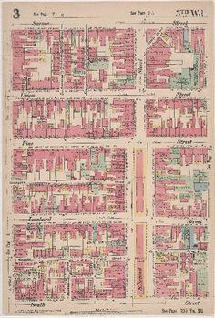 Insurance Maps of the City of Philadelphia, 1897, Plate 3 - Maps