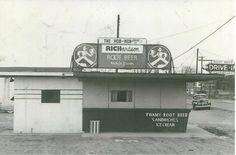 Hob Nob -Sparta, Mi c. 1940's Sparta Michigan, Root Beer, Old Photos, Old Pictures, Vintage Photos