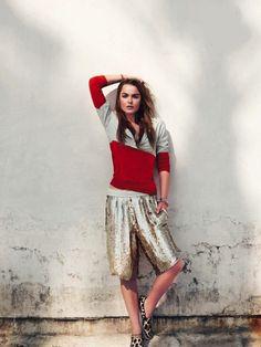 ELLE FRANCE, JUNE 2013  photography: ben morris   ∆   model: bambi northwood-blyth   ∆   styling: michele beaurenaut