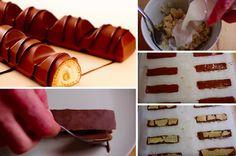 Surement les Kinder préférés de tous, les Kinder Bueno ! Voici l'excellente recette pour en faire vous même à la maison. Un rendu plus qu'étonnant en terme de goût, parfait pour les petits comme pour les grands ! Ingrédients : 100 g. de noisette mondée 3 cuillères à soupe de sucre glace 1 cuillère à … Sweet Recipes, Snack Recipes, Dessert Recipes, Cooking Recipes, Kinder Bueno Recipes, Apfel Snacks, Healthy Breakfast For Kids, Food Humor, Chocolate Recipes