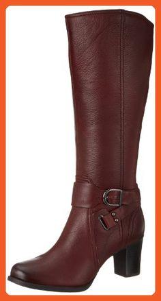Clarks Women's Jolissa Lapis Knee-High Boot,Burgundy,9 M US - Boots for women (*Amazon Partner-Link)