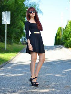 ViktoriaSarina: Black dress