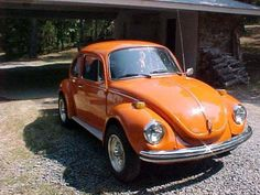 1970 Super Beetle- First car. I miss having a Beetle.