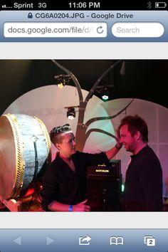 Imagine Dragons Ben pre show prep for Demons video ... Las Vegas Hard Rock Hotel feb 13