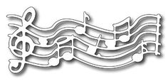 FRA-DIE-09043 Frantic Stamper - Precision Dies - Musical Score