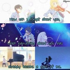 Anime: Your Lie In April