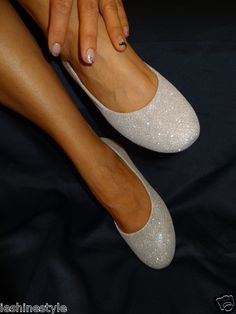 silver flat; PERFECT for my costume!