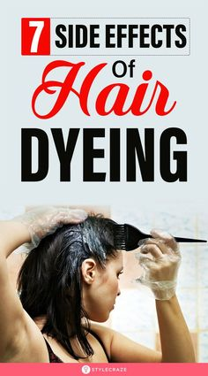 7 Side Effects Of Hair Dyeing: Dyeing your hair can be the most fun thing to do. However, there's no denying that dyes can often come with harmful side effects. In this article, we have discussed the side effects of hair dyeing that everyone should know before they color their hair. #SideEffects #HairDye #HairCare Lose Weight In Your Face, Lose Weight In A Month, Need To Lose Weight, Best Weight Loss, Weight Loss Tips, High Blood Pressure Diet, Side Effects, Dyes, Hair Loss