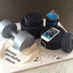 Fitness-Inspired Cakes, Because Fit Fanatics Love Cake, Too