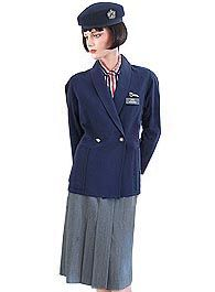 British Airways uniform 1985-1992 Ohhh how I remember wearing this one !